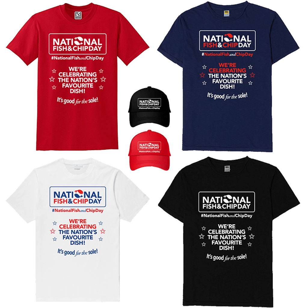 National Fish and Chip Day Merchandise